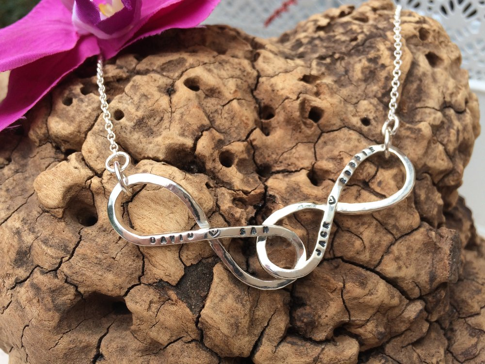 Love to Infinity Custom Necklace