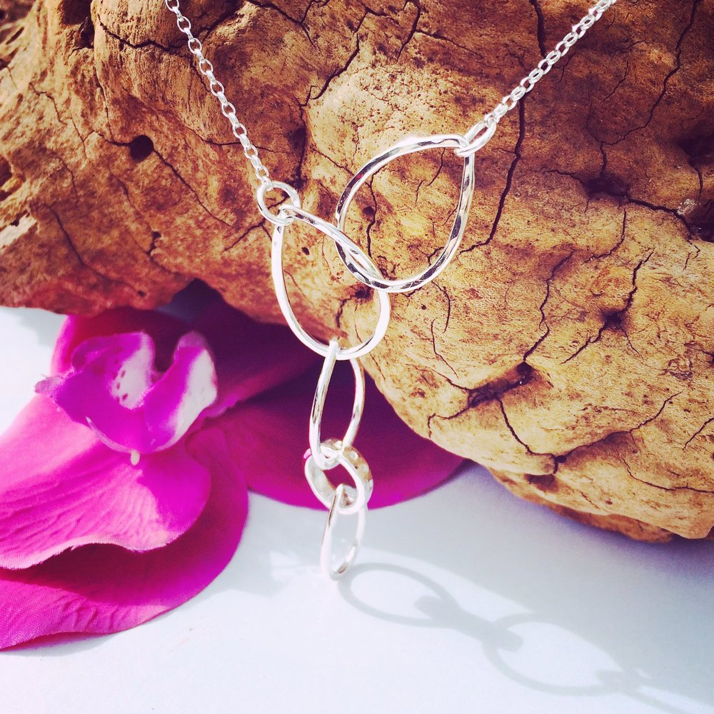 'Falling In Love' Necklace - to help those to fall in love with themselves again