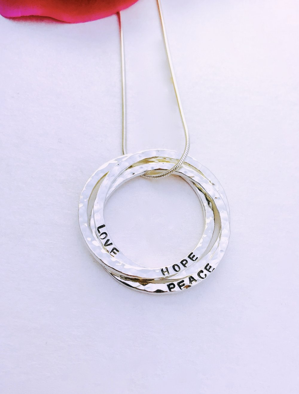 Serenity Rings Necklace