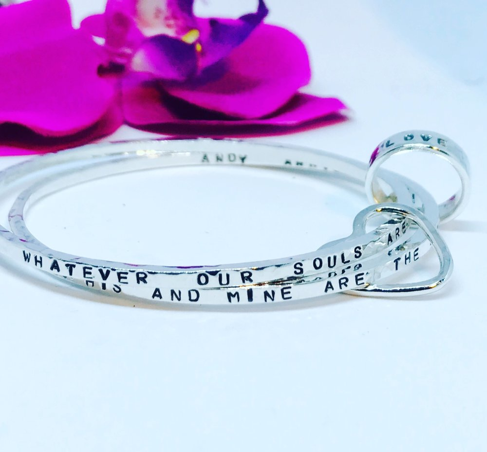 Custom Double Storyboard Bangle