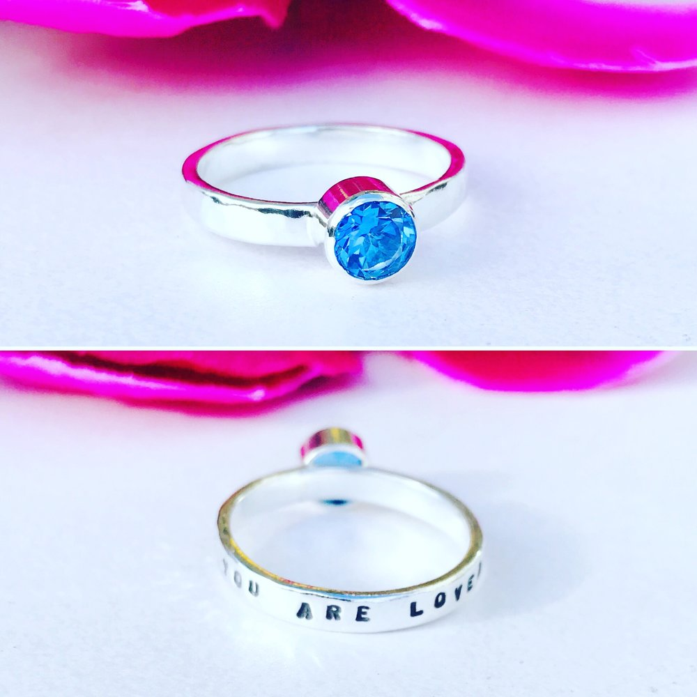 Custom Love Prevails Ring