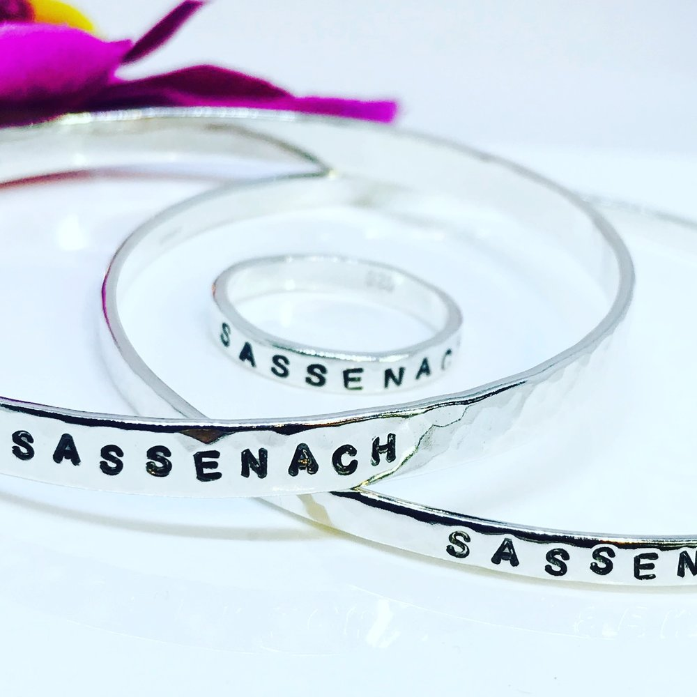 "Outlander ""Sassenach"" Bangle"