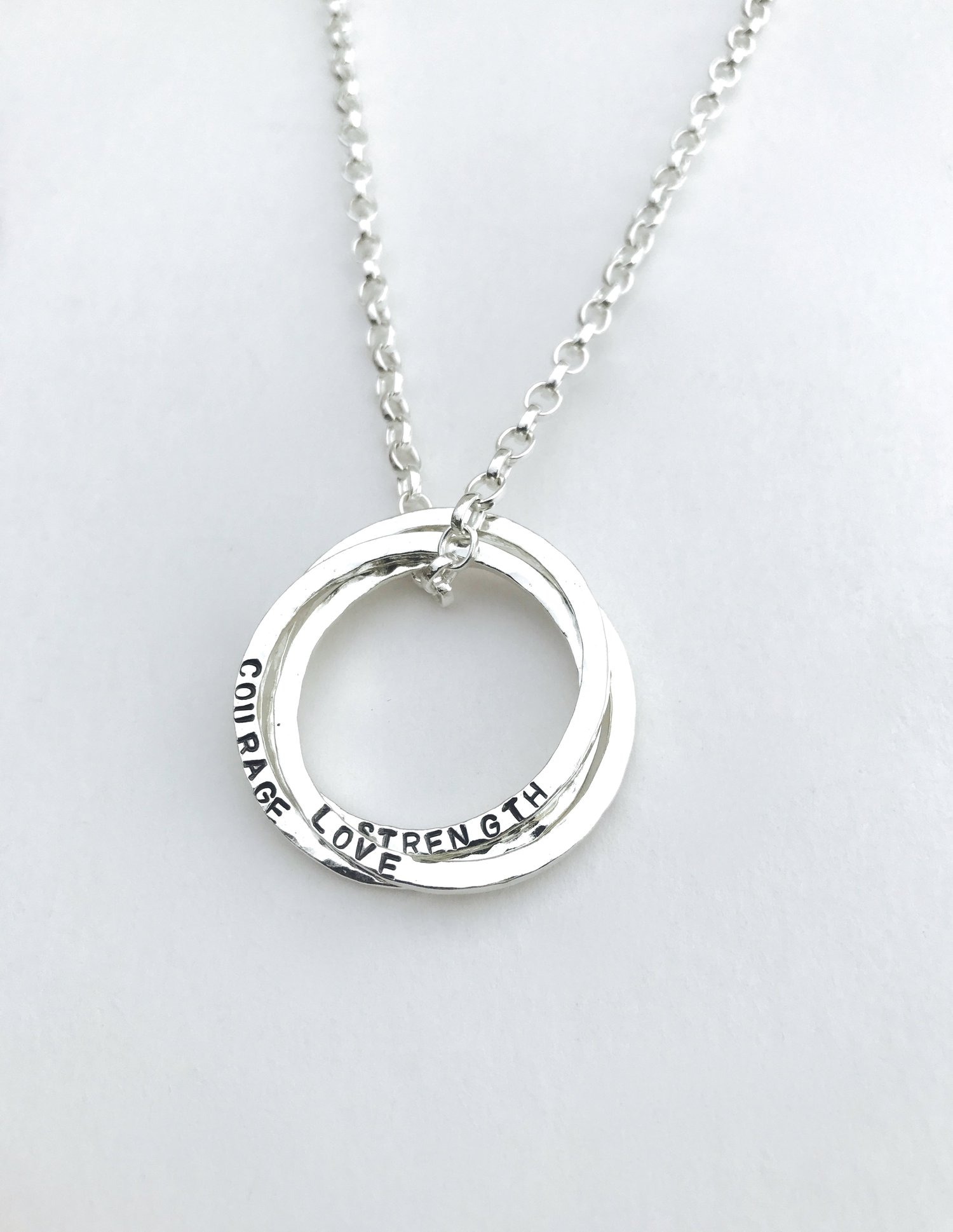 Well known Holly Silver Jewellery - Personalised Sentimental Sterling silver  XG63