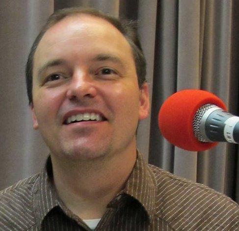 Joe Kendrick in WNCW's Studio B. Photo: Dennis Jones