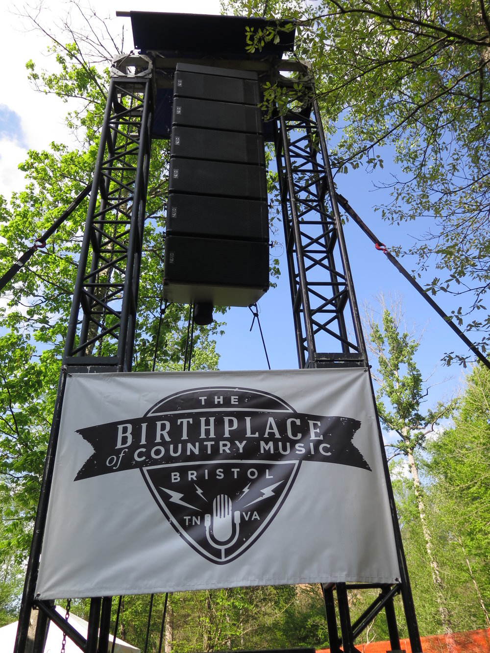 Creekside Stage at MerleFest