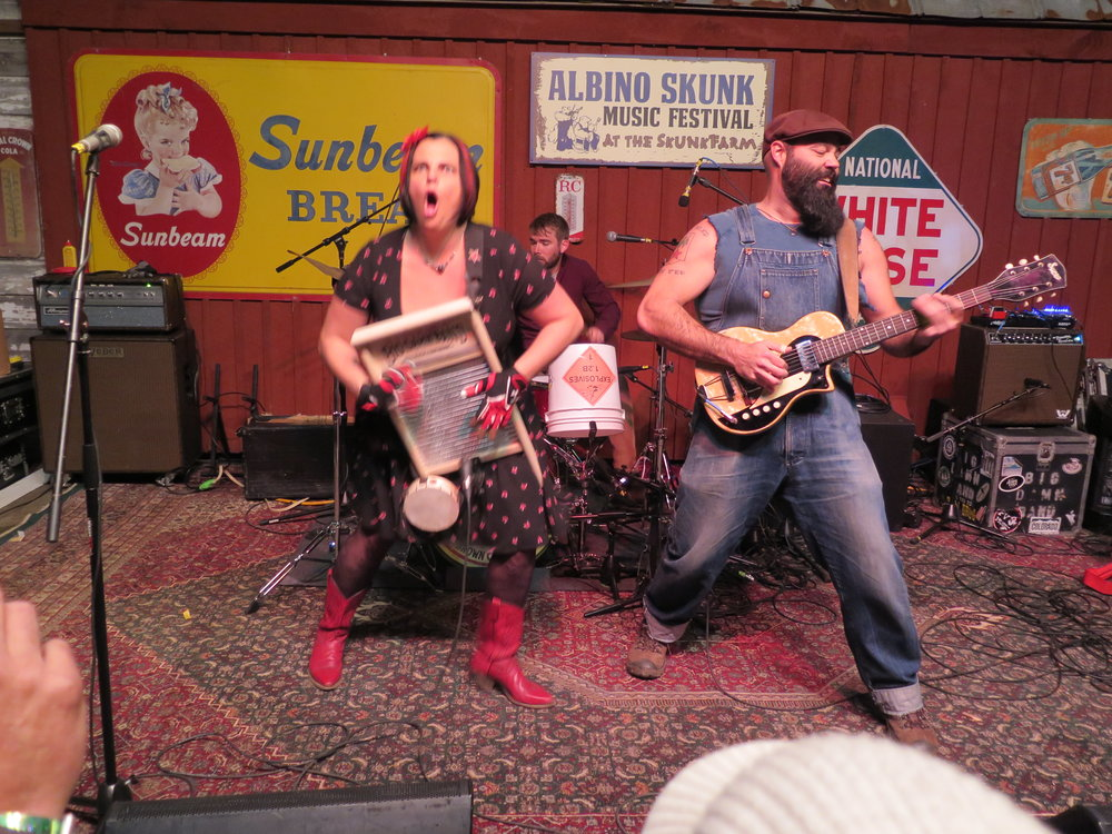 The   Reverend Peyton's Big Damn Band   closes out Thursday night at SpringSkunk