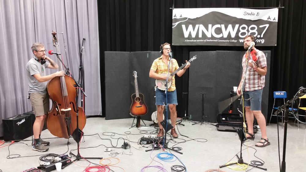 The Steel Wheels playing live on WNCW 7-20-17