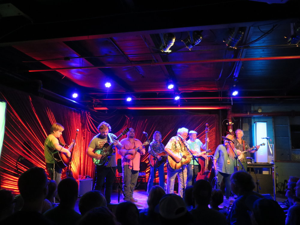 Late Jam at Pisgah Brewing: Frank Solivan & Dirty Kitchen with Peter Rowan, Jim Lauderdale and members of Front Country