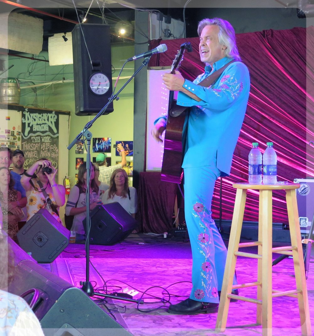Jim Lauderdale   in Black Mountain, NC for Jam In The Trees 8-25-18
