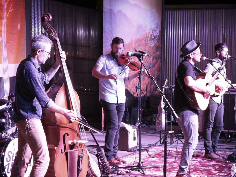 The Steel Wheels perform in Wilkesboro, NC 9-21-18