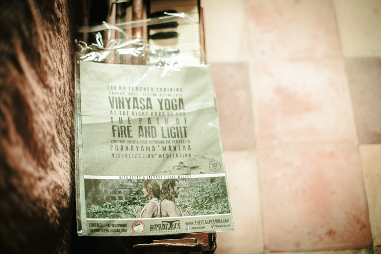 CANGGU, BALI /// VINYASA @OCTAVIO