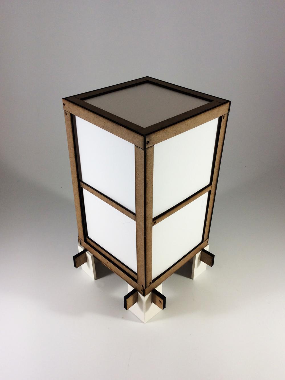 Fiberboard Prototype