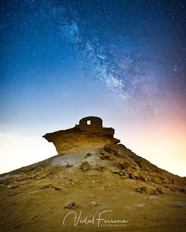 Our Home - Zekreet, Qatar Hot, humid and a wonder this vast desert is. The Milky Way is greatness beyond 5-stars.