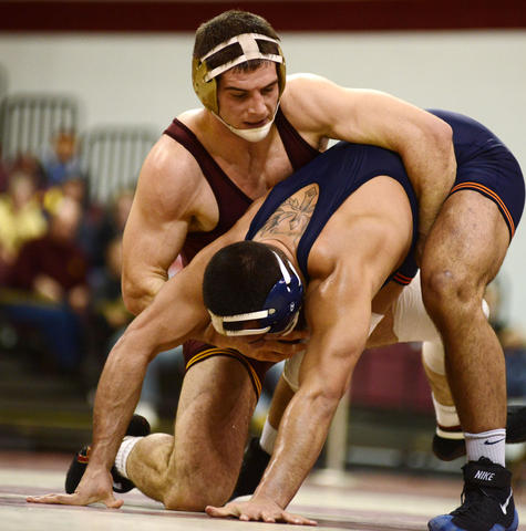 Schiller looks to upset the NCAA Champion from the year before.