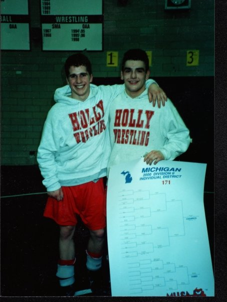 Rob Aikens @RobertAikens - Rob was an NWCA All-American at Grand Valley State University and an all-around stud.