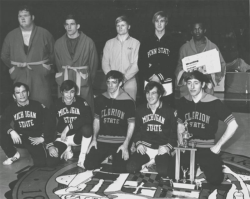 1972 NCAA Champions, Greg Johnson is bottom left.