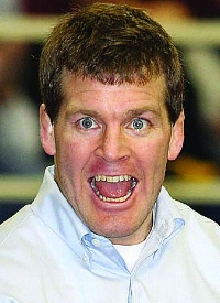 Tom Brands being scary.