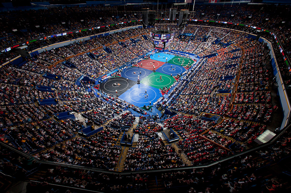The 2017 NCAA Divison I Wrestling Championships kick off tomorrow in St. Louis.