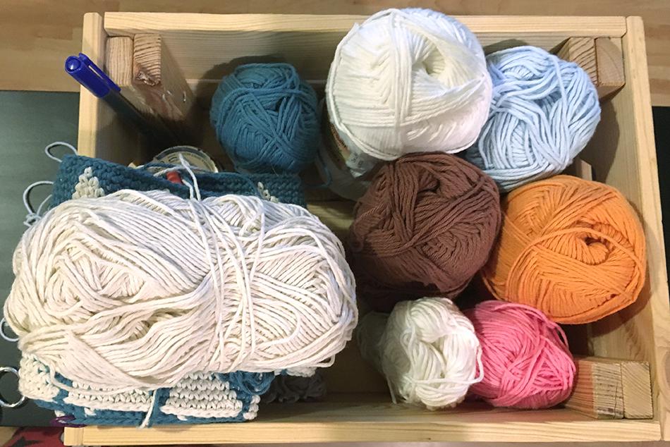 caixa crochê - Um blog muito simples - Hook of Life