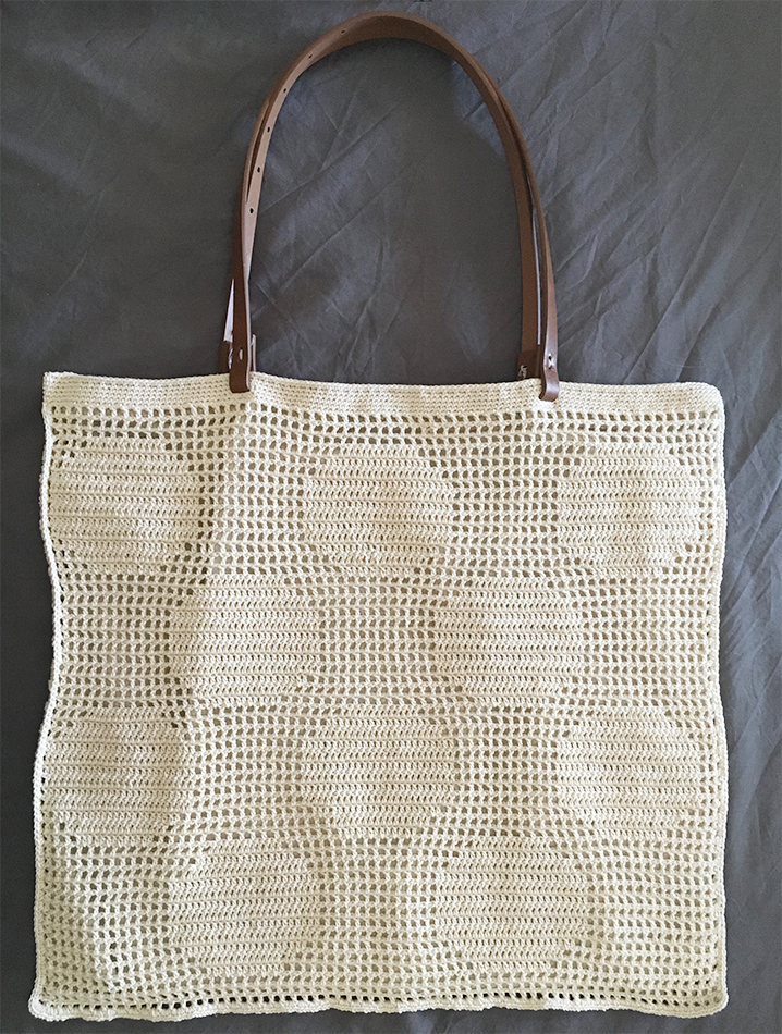Pixel Project - Dot Bag (with lining)