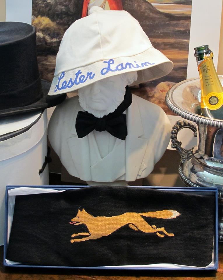 Bonus points if you wear your own Lester Lanin hat.