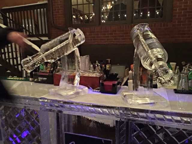 embracing the weather- sperry's very popular ice-luge
