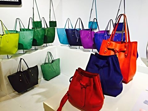 FInd the perfect pop of color at Encounter & their Annabel Ingall bags