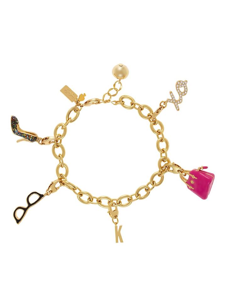 Kate Spade New York charm bracelets at Lola Boutique for a little sparkle..