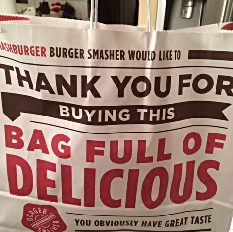 Bag full of deliciousness? #TRUTH