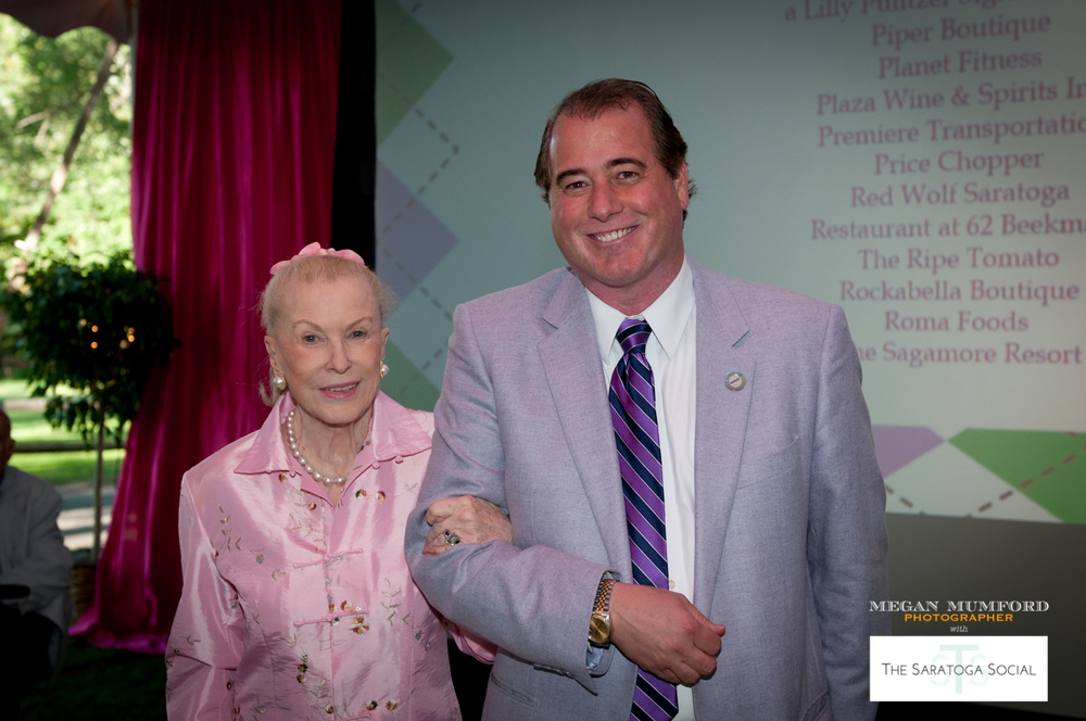MARYLOU WHITNEY AND JOHN HENDRICKSON, HONORARY CHAIRPERSONS