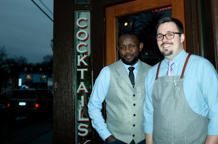 Co-Owners Dennis Kiingati & Brendan Dillon (photos: alex hodor-lee)