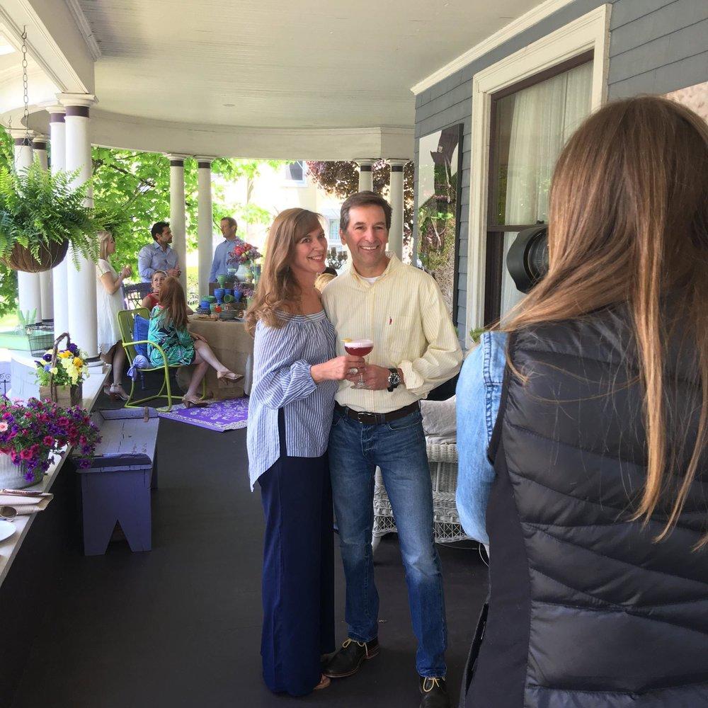 Porch Party Shoot, May 2016