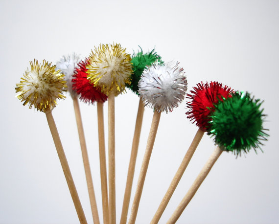 Extended family tripped up on the jello aspect..? Distract them with sparkly toothpick!
