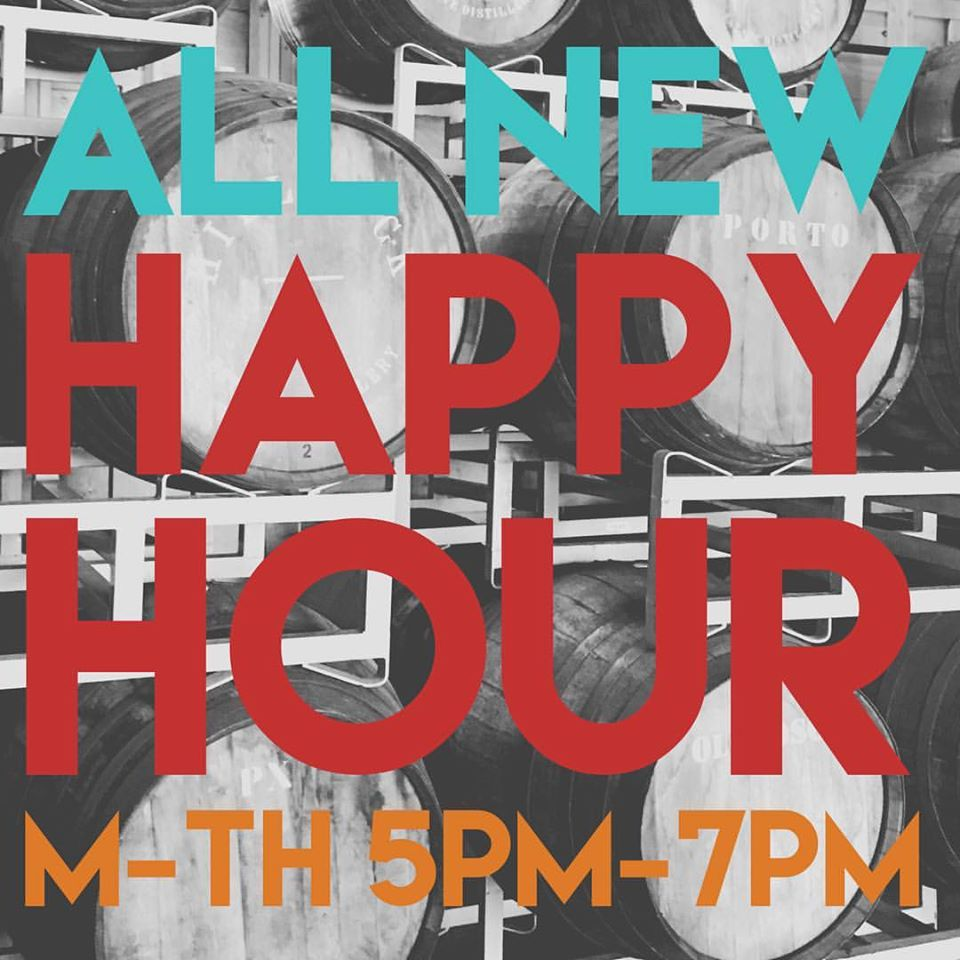 HAPPY HOUR AT H & G: Half Priced House Old Fashioneds, Half Price House Daiquiris, $3 Narragansett, $6 Red and White Wines!