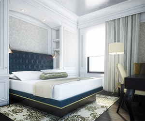 """""""Guests will also appreciate Coben's team repurposing many of the The Adelphi Hotel's original furniture pieces which were reupholstered with contemporary touches to create an ambiance of modern Victorian."""""""