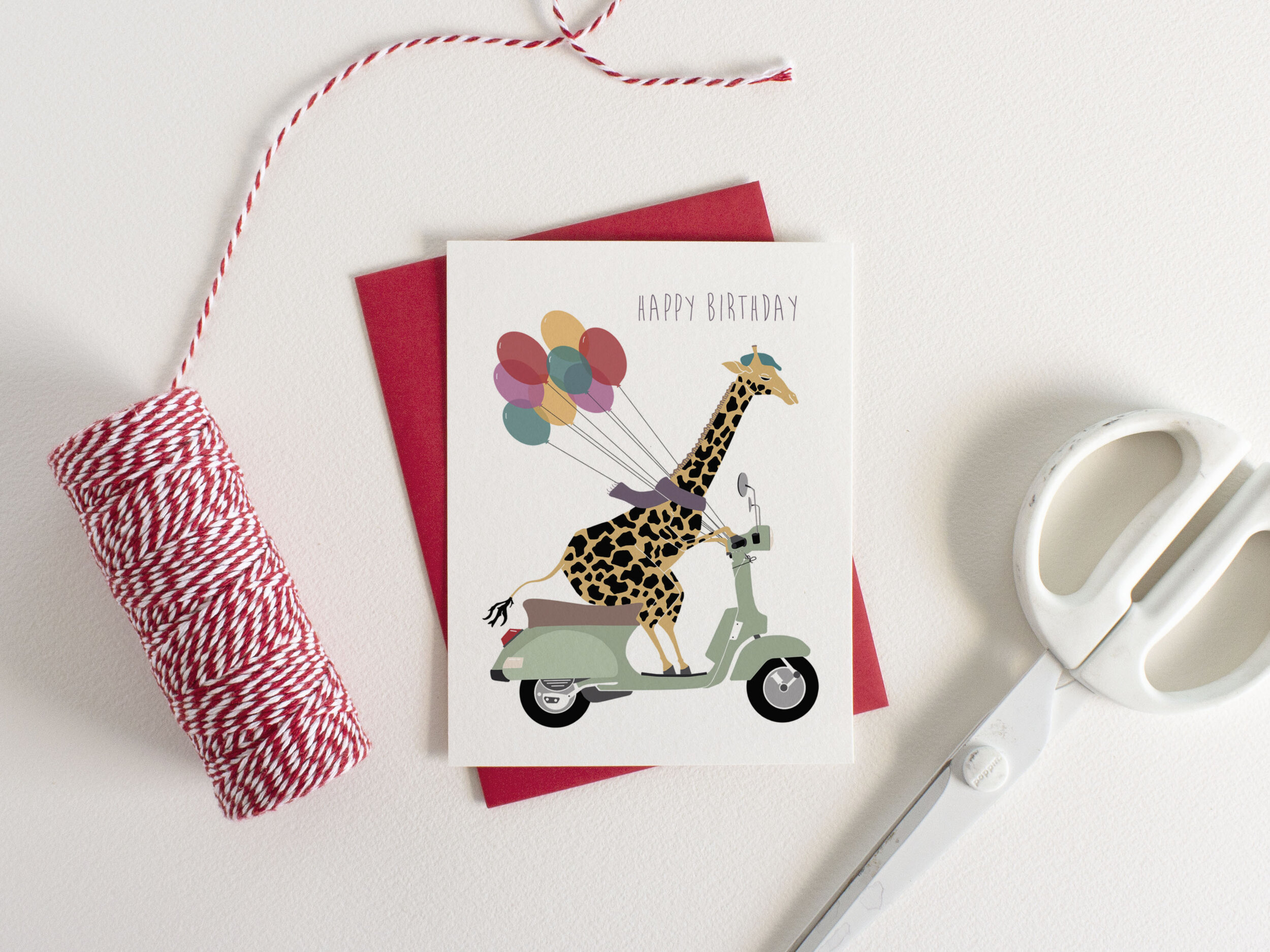 May We Fly Delivery Mouse Birthday Card