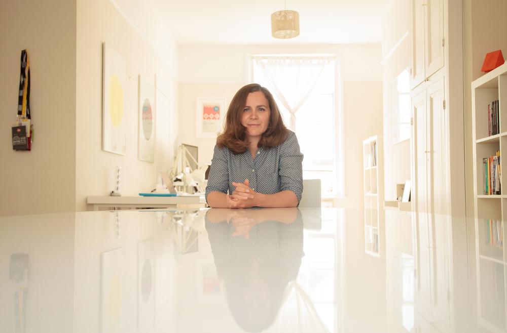 Libertad Aguilera of HelloEnjoy      Photographed for Web Designer
