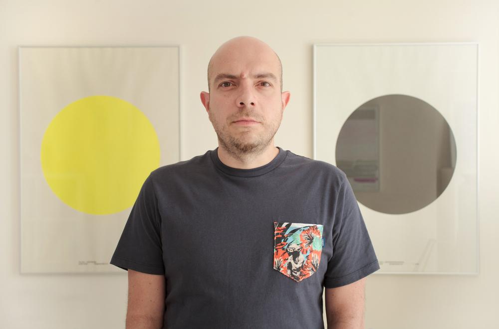 Carlos Ulloa of HelloEnjoy      Photographed for Web Designer