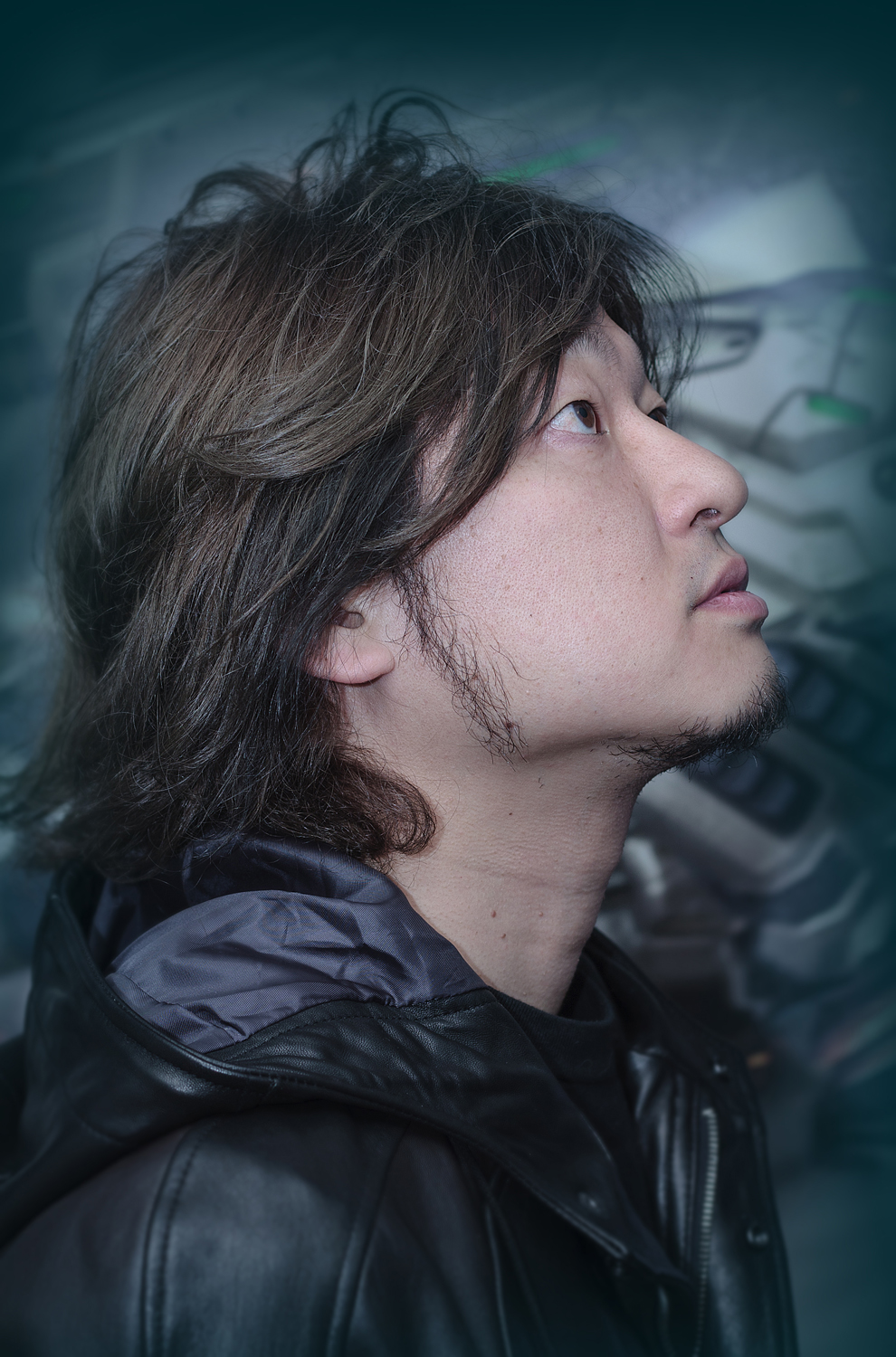 Atsushi Inaba of Platinum Games        Photographed for GamesTM Magazine