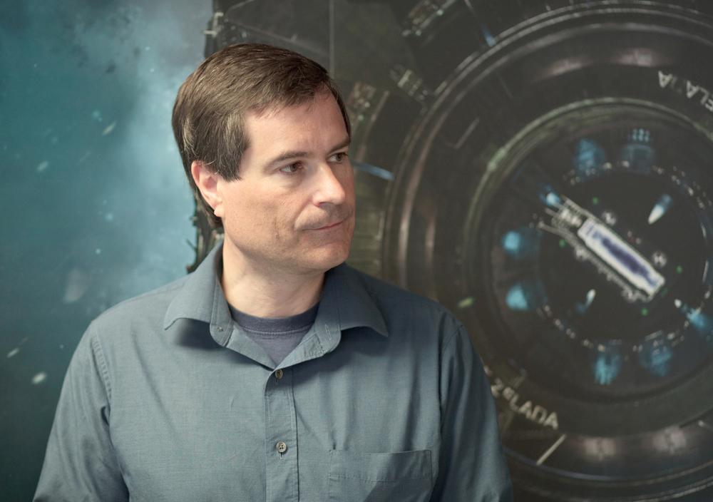 David Braben of Frontier Developments      Photographed for GamesTM Magazine