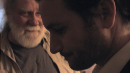 "RICHARD MASUR AND KEVIN KANE IN A PRODUCTION STILL FROM ""quick fix"""