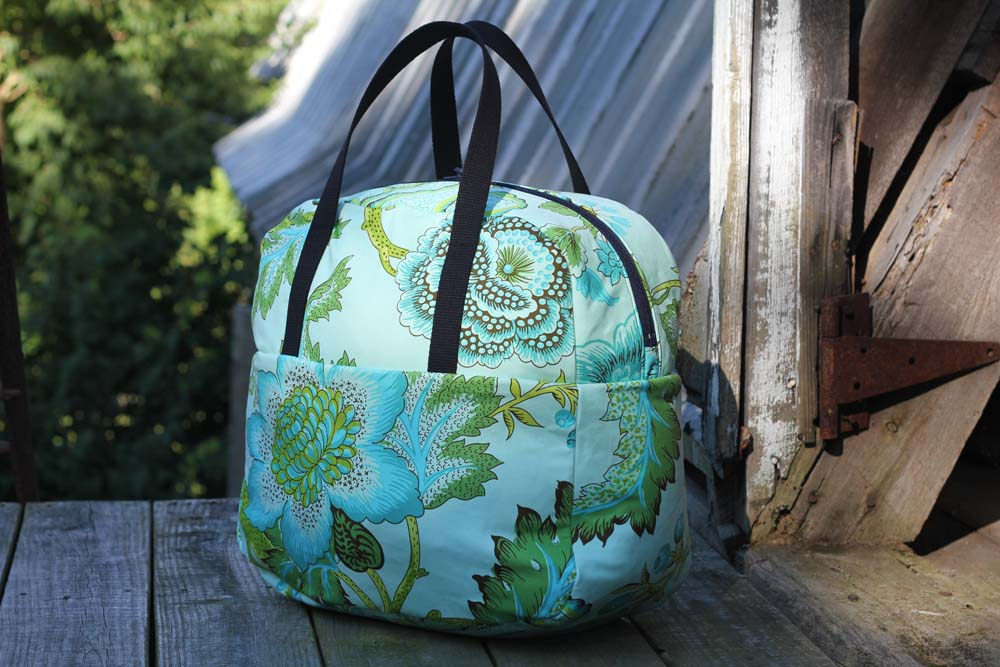 Liesl Made Weekender Bag Tutorial