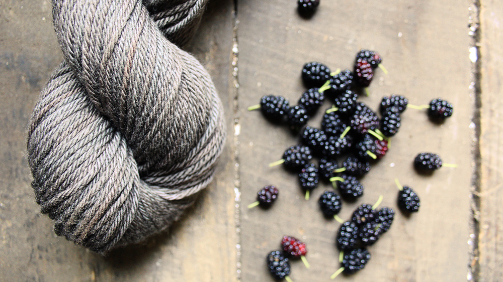 Liesl Made : Mulberry Dyed Yarn
