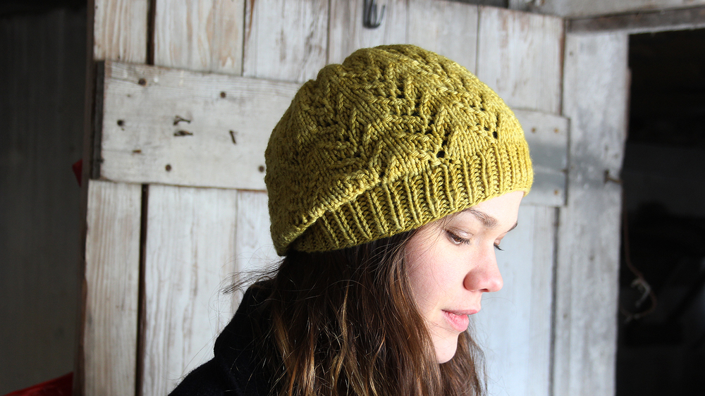 b58972e2d61 Introducing My First Knitting Pattern : Henny Hat — Buckaloo View