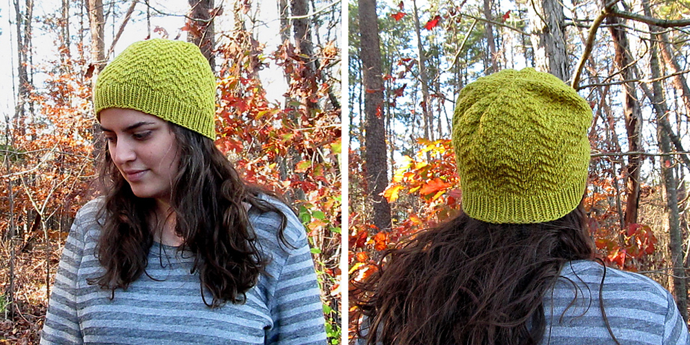 Kristin made a nice bright marigold dyed FreshMint.