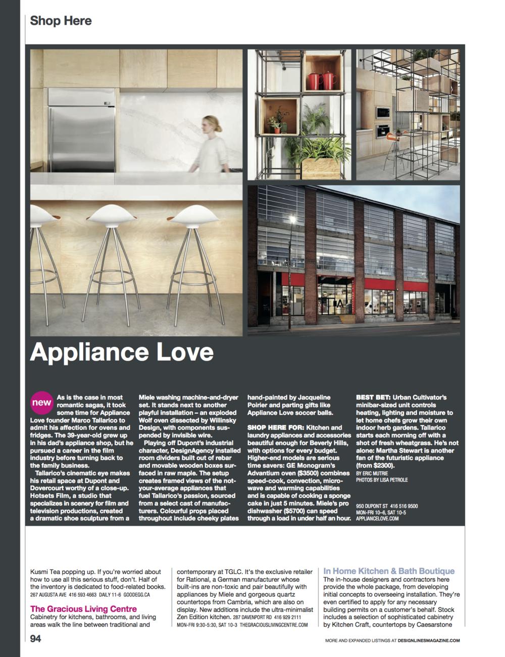 Appliance Love