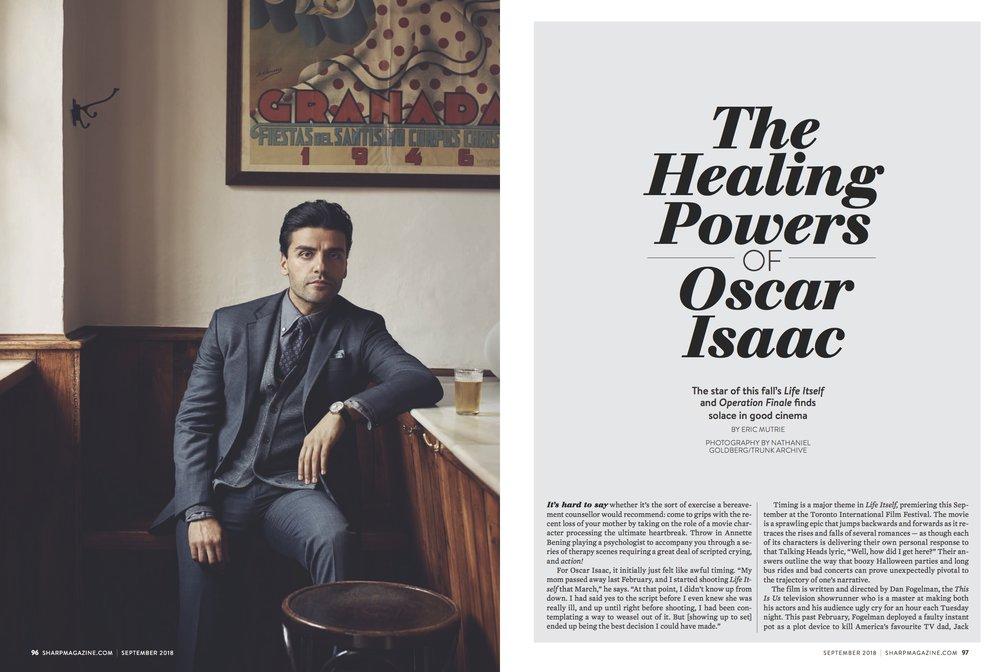 Oscar Isaac Cover Story - September 2018