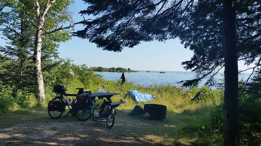 Lake Michigan's North Shore.