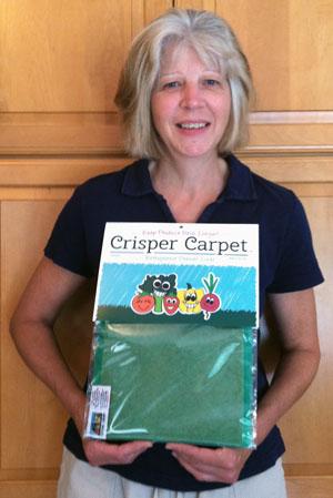 JoAnne Givler, inventor of Crisper Carpet™