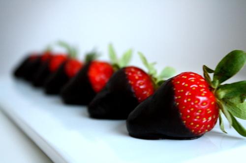 Valentine Night Strawberries